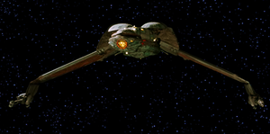 Star Trek III: The Search for Spock - Image: S03 The Search for Spock Bird of Prey decloaks