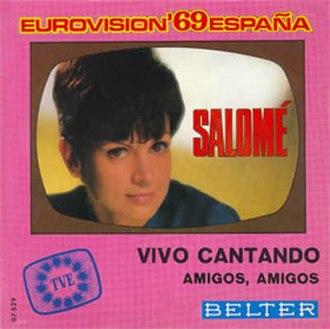 Vivo cantando - Image: Salomé Vivo cantando