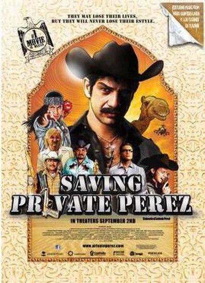 Picture of a movie: Saving Private Perez