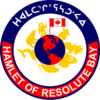 Official seal of Resolute Resolute Bay