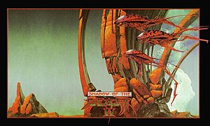Shadow of the Beast II - Cover art by Roger Dean
