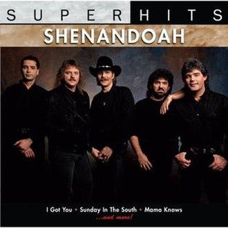 Super Hits (Shenandoah album) - Image: Shenandoah super hits 2