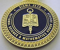 """Sigma Zeta Graduation Medallion"""