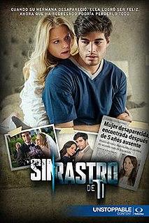 <i>Sin rastro de ti</i> Mexican telenovela