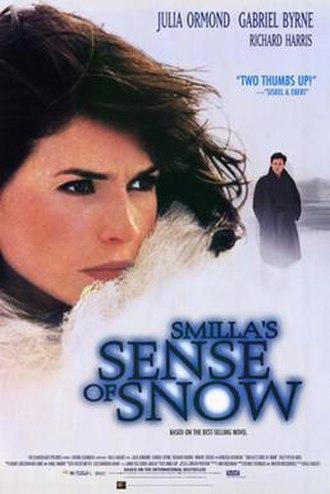 Smilla's Sense of Snow (film) - Theatrical release poster
