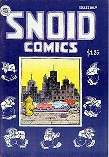 Snoid Underground comix character created by Robert Crumb