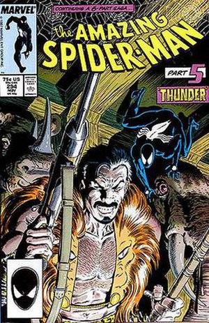 Kraven's Last Hunt - Image: Spider 294