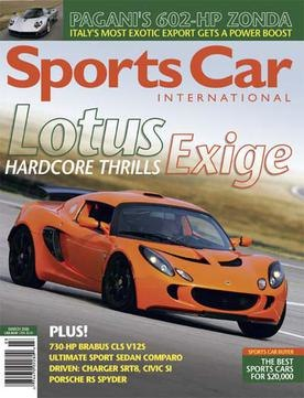 Sports Car International March 2006 cover