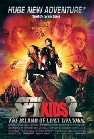 Spy Kids 2: The Island of Lost Dreams - Theatrical release poster