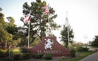 Saint Andrew's School (Savannah, Georgia) - The St. Andrew's School headstone