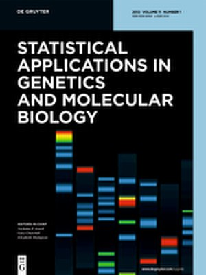 Statistical Applications in Genetics and Molecular Biology - Image: Statistical Applications in Genetics and Molecular Biology cover