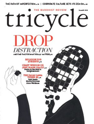 Tricycle: The Buddhist Review - Image: Summer 2015 Cover