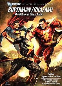 The Return Of Black Adam Superman Shazam