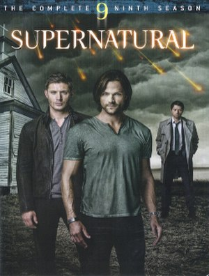 Supernatural (season 9) - DVD cover art