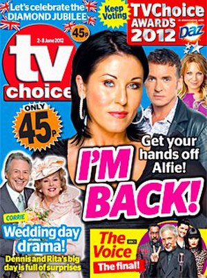 TV Choice - Queen's Diamond Jubilee edition