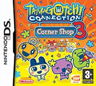 Tamagotchi Connection: Corner Shop 3 - Cover art of Tamagotchi Connection: Corner Shop 3