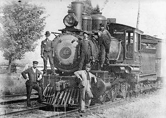 Toronto, Hamilton and Buffalo Railway - Image: Thb locomotive 22