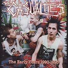 Casualties, The - 40oz. Casualty E.P.