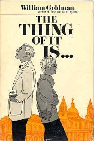 The Thing of It Is... - First UK edition