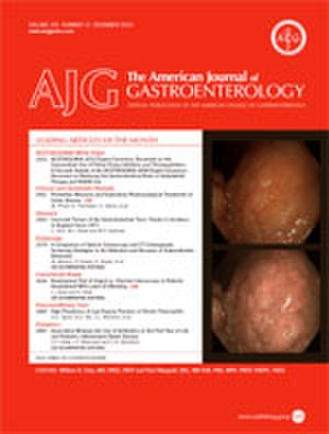 The American Journal of Gastroenterology - Image: The American Journal of Gastroenterology