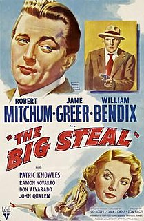 <i>The Big Steal</i> 1950 film by Don Siegel