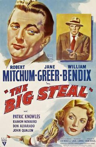 The Big Steal - Theatrical release poster