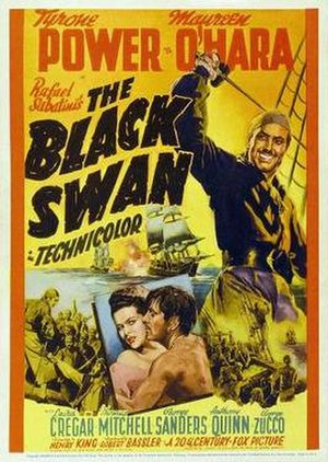 The Black Swan (film) - Theatrical release poster