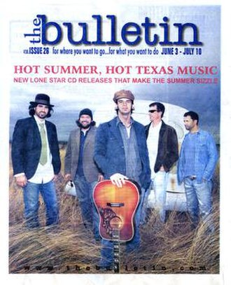 The Bulletin (alternative weekly) - Cover of the June 3-July 10, 2008 issue