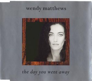 The Day You Went Away - Image: The Day You Went Away single cover