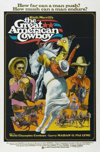 The Great American Cowboy - Theatrical release poster