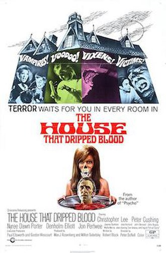The House That Dripped Blood - Original theatrical poster