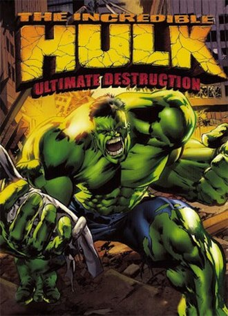 The Incredible Hulk: Ultimate Destruction - PAL region cover art for GameCube