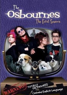 <i>The Osbournes</i> (season 1) season of television series