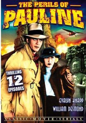 The Perils of Pauline (1933 serial) - DVD cover