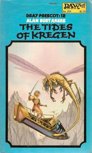 The Tides of Kregen - First edition cover