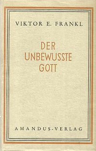 The Unconscious God - Cover of the 1949 German edition