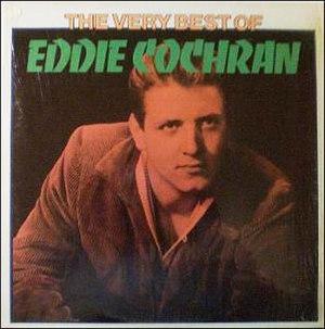 The Very Best of Eddie Cochran (1975 album) - Image: The Very Best Of Eddie Cochran United Artists LA428 E
