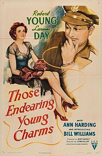 <i>Those Endearing Young Charms</i> (film) 1945 film by Lewis Allen