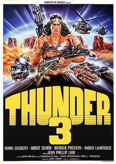 <i>Thunder Warrior III</i> 1988 film by Fabrizio De Angelis