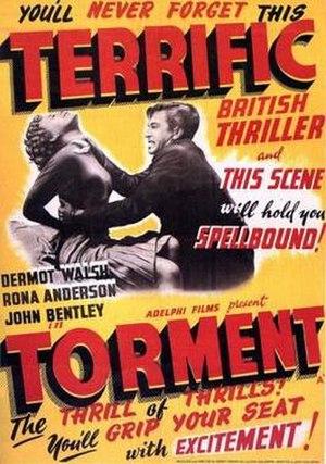 Torment (1950 British film) - Image: Torment Film Poster