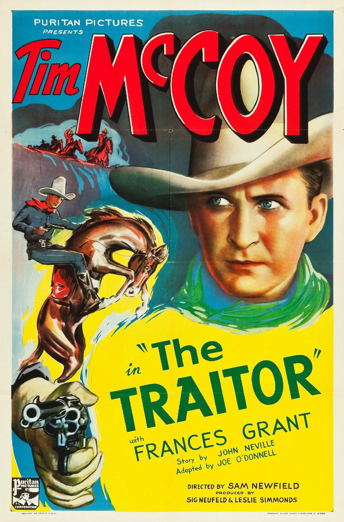 The Traitor 1936 American Film Wikipedia