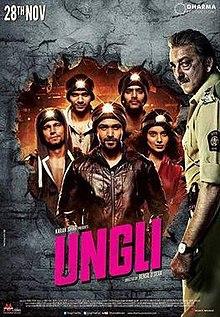 Ungli (2014) SL DM - Emraan Hashmi, Kangana Ranaut, Randeep Hooda, Neil Bhoopalam, Angad Bedi and Sanjay Dutt