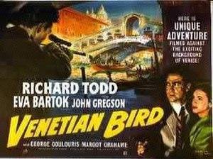 Venetian Bird - Image: Venetian Bird Poster