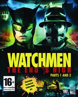 Watchmen: The End Is Nigh - Image: Watchmen The End is Nigh game cover