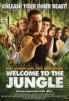 Welcome to the Jungle(2013) Poster.jpg