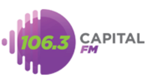 XHRVI-FM - Image: XHRVI Capital FM106.3 logo
