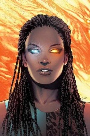 Oya (comics) - Image: XMEN Oya