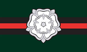 Flags and symbols of Yorkshire - Image: Yorkshire Regiment Tactical Recognition Flash