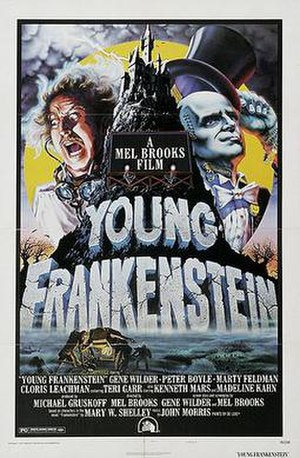 Young Frankenstein - Theatrical release poster