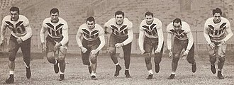 1936 LSU Tigers football team - Image: 1936LSUline